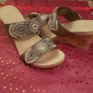Women's Croft&Barrow Wedge Sandals